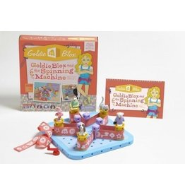 Glodie Blow GoldieBlox and the Spinning Machine Kit - Level 1