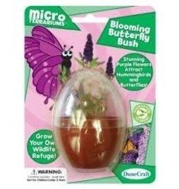 Dunecraft Micro Terrariums,Blooming Butterfly Bush