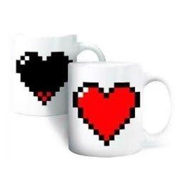 Morph mug pixel heart