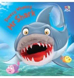 Sneezy Wheezy Mr. Shark,Puppet Book