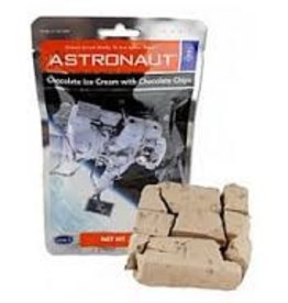 Certified Space Technology Space Astronaut Chocolate Ice Cream with Chocolate Chips