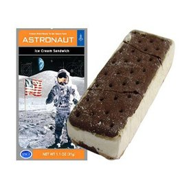 Certified Space Technology Space Astronaut Vanilla Ice Cream Sandwich