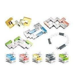 Bracelet Cube Playable Art Grey