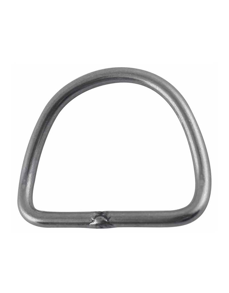 """Manta Industries 1"""" Stainless D-Ring"""
