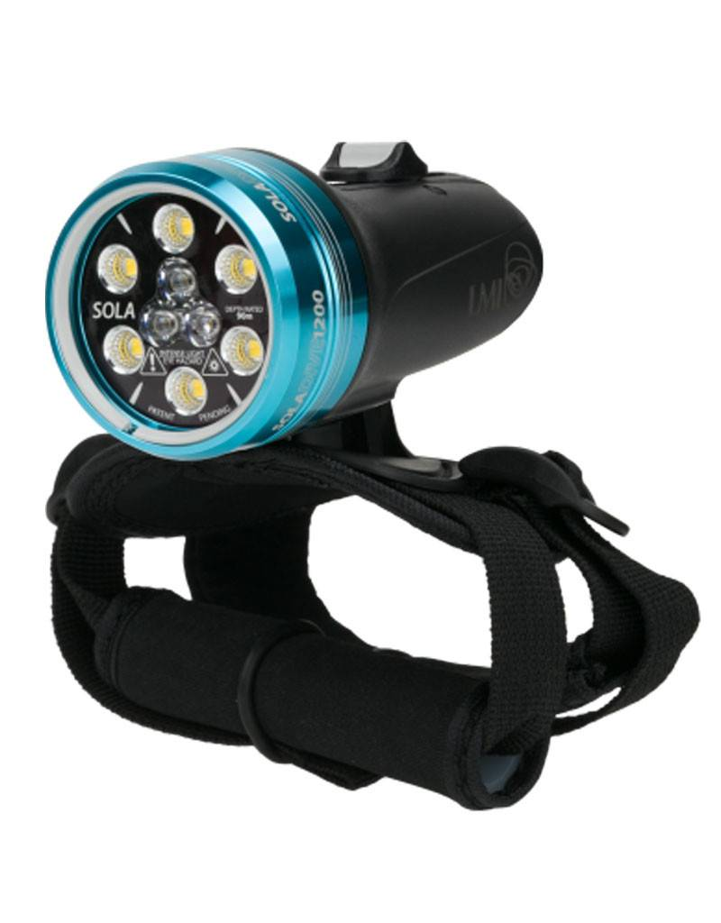 Light & Motion Light & Motion SOLA Diver 1200 S/F Black