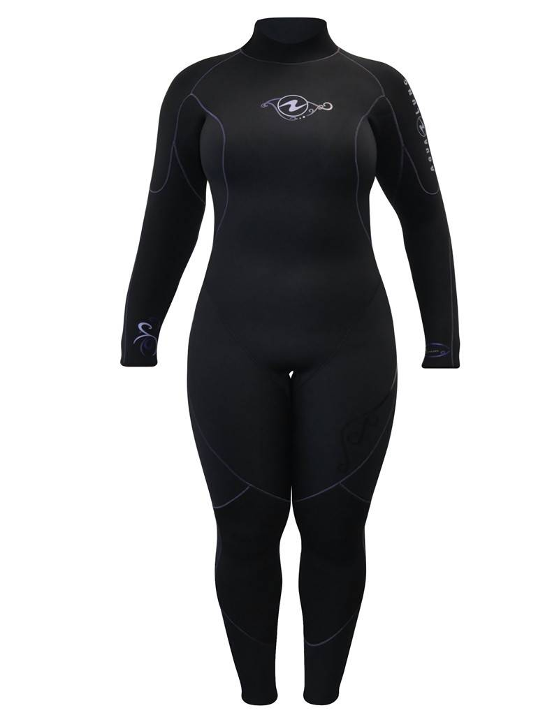 AquaLung Aqua Lung Women's Aquaflex 5mm Back-Zip Jumpsuit