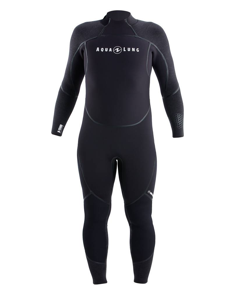 AquaLung Aqua Lung Men's Aquaflex 7mm Back-Zip Jumpsuit