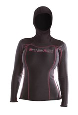 Blue Ocean Ventures Sharkskin Chillproof Womens Long Sleeve w/Hood