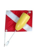 Marine Sports Mfg. Flag Torpedo Float & Flag - Marine Sports