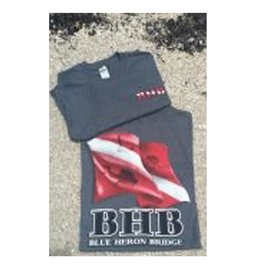 BHB Dive Inc BHB Dive Flag Short-Sleeve T Shirt