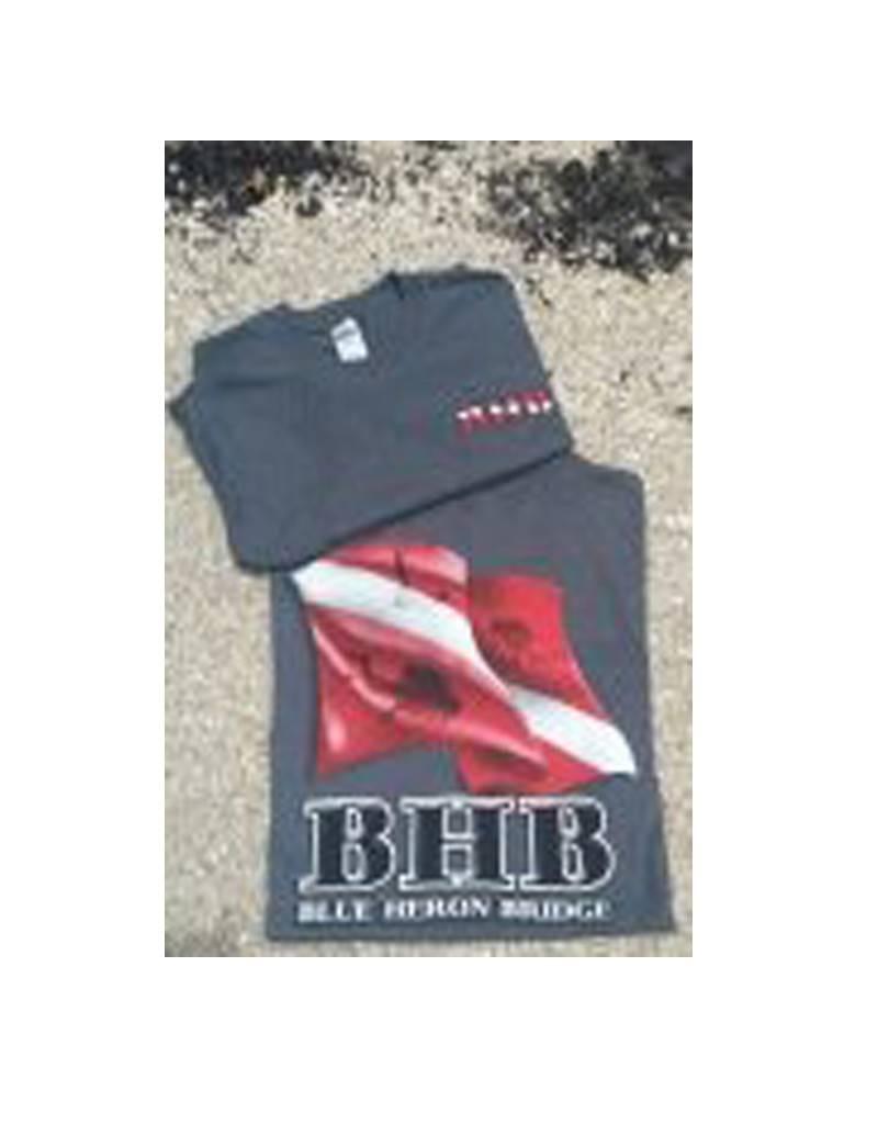 BHB Dive Inc BHB Dive Flag Short-Sleeve T Shirt