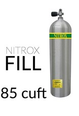 Force-E Air Fill Nitrox Single 85+ cu ft