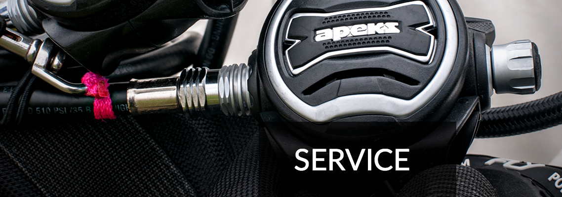 Scuba Equipment Service and Repair