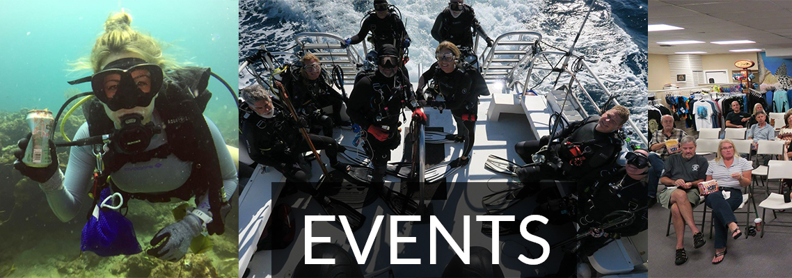 Boca Raton Scuba Diving Club and Scuba Events