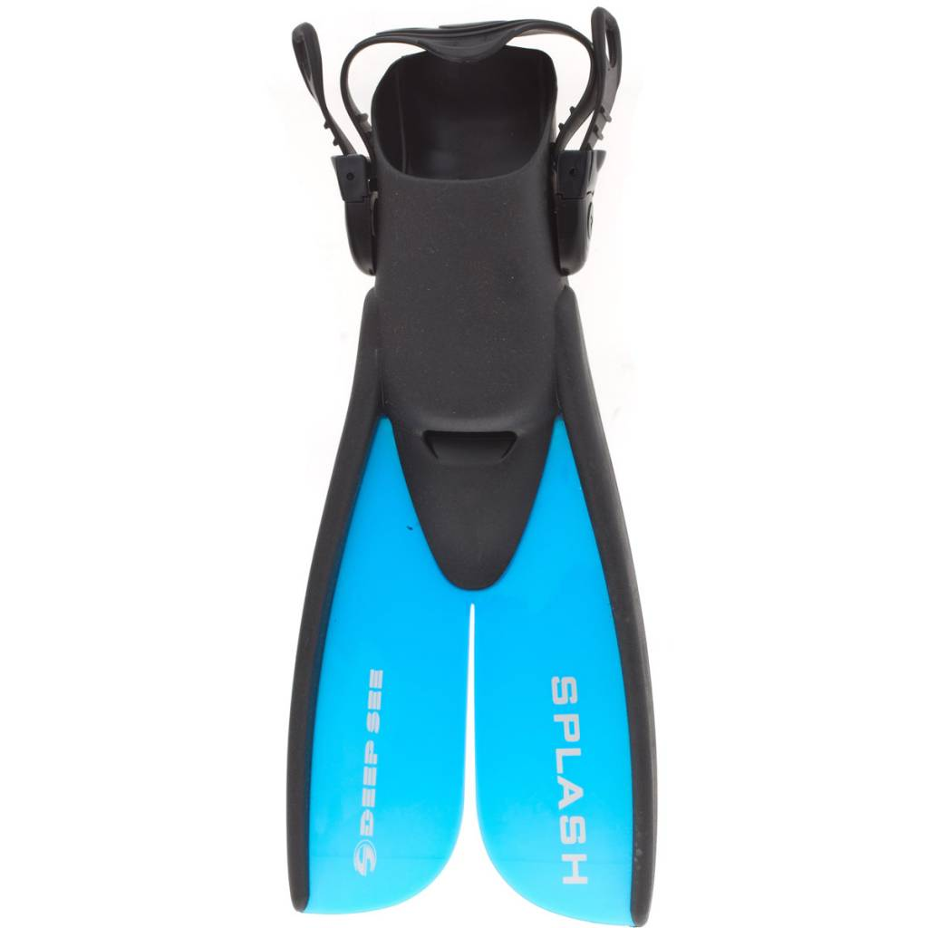 AquaLung Deep See Jr. Splash Fins -SPLIT