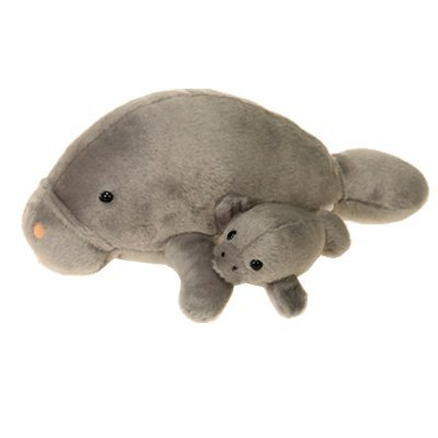 Marine Sports Mfg. Mama Manatee & Baby Stuffed Animal