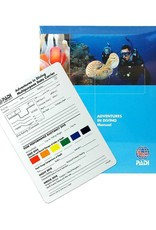 PADI PADI Adventures in Diving Manual w/Data Carrier Slate