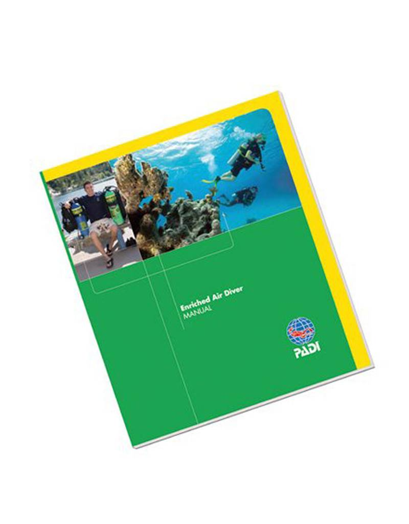 PADI PADI Enriched Air Diver Specialty Manual W/Tables Imperial