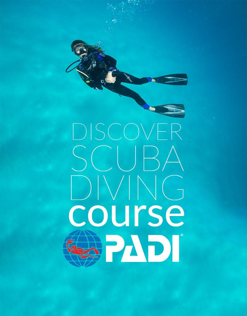 Force-E PADI Discover Scuba Diving