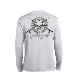 Born of Water Born of Water Performance Long Sleeve Skull & Spearguns