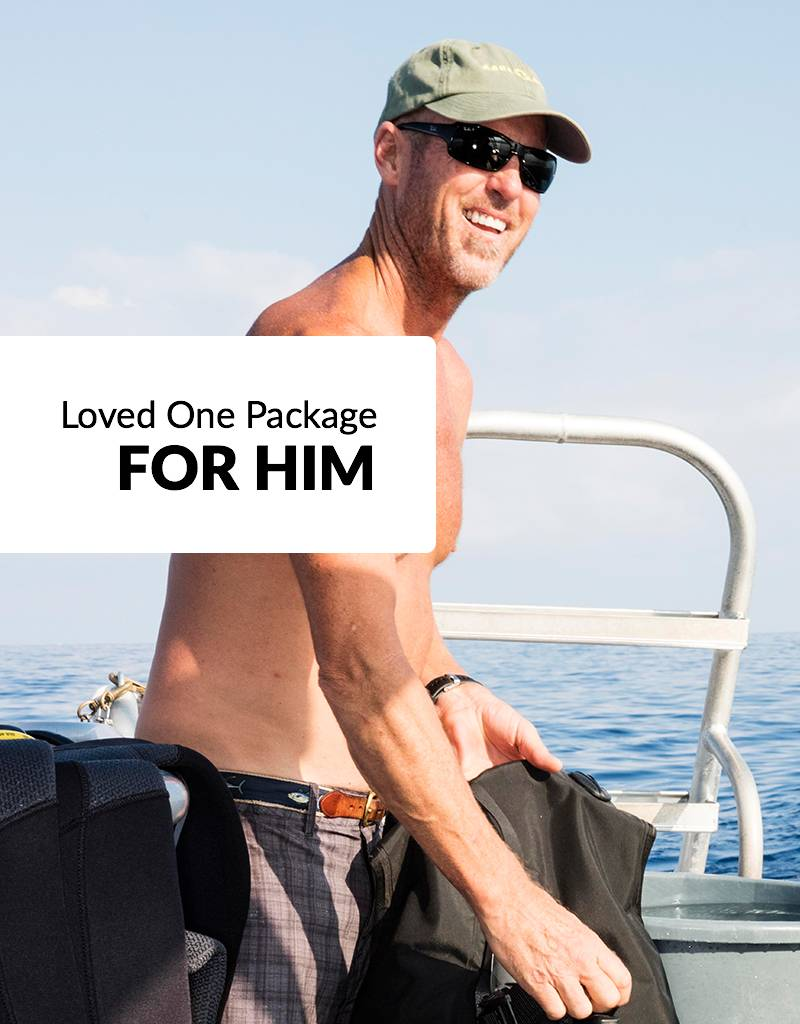 "Force-E Scuba Centers Valentine's Day Package - ""Loved One"""