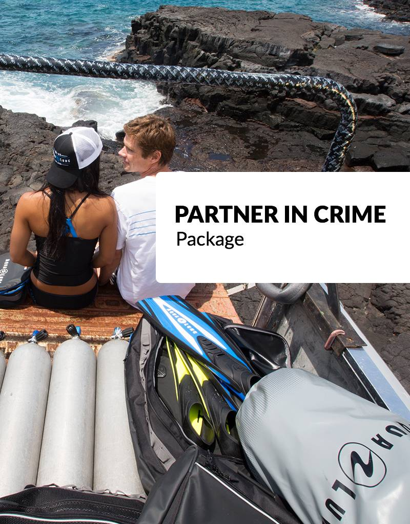 "Force-E Scuba Centers Valentine's Day Package - ""The Partner"""