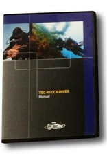 PADI TEC 40 CCR MANUAL CD-ROM