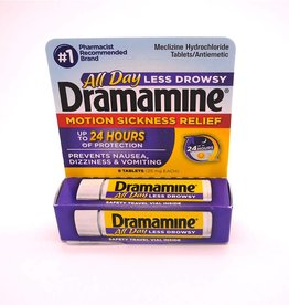 Marine Sports Mfg. Dramamine - Less Drowsy Tablets 8 ct.