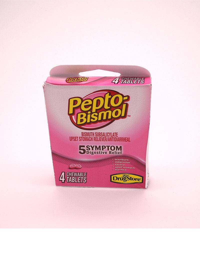 Marine Sports Mfg. Pepto Bismol - Chewable Tablets