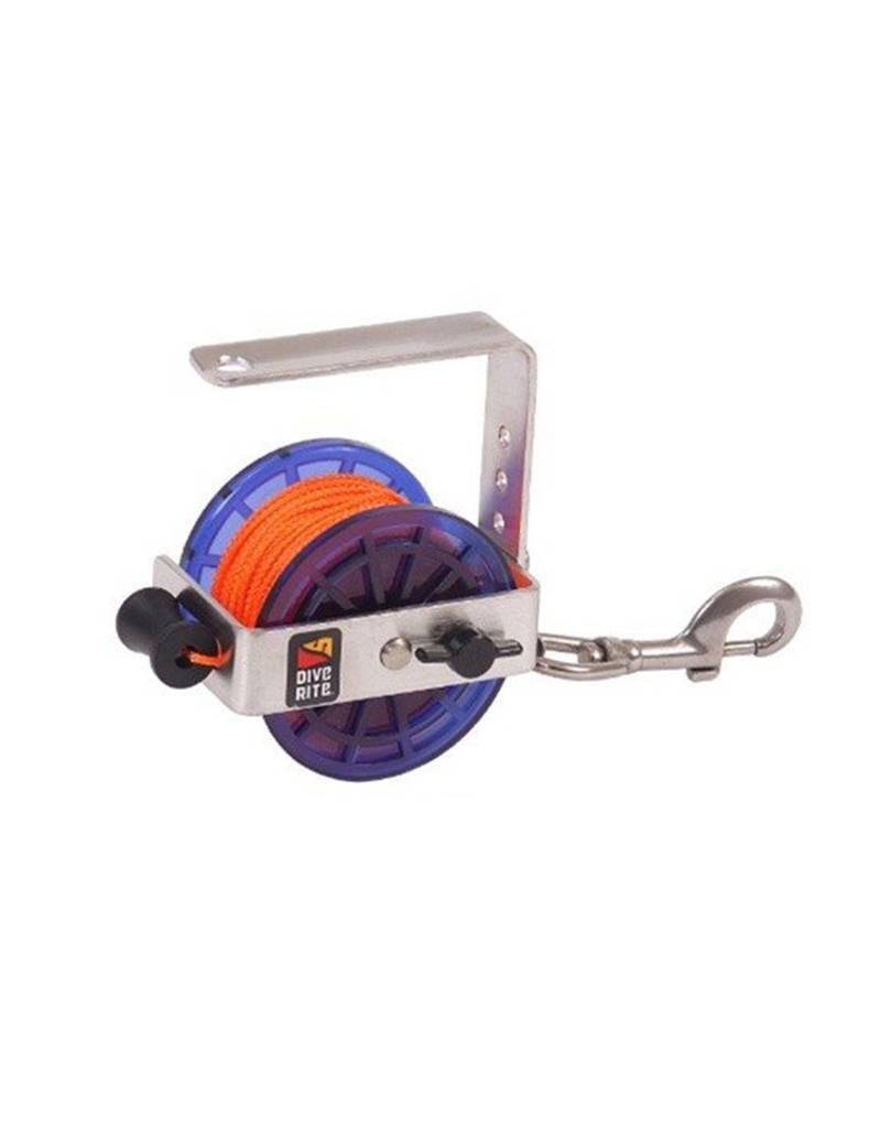 Dive Rite Dive Rite Reel Safety 400'' #24 Orange Line