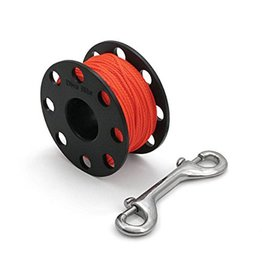 Dive Rite Reel Finger Spool 125 #24 Orange Line