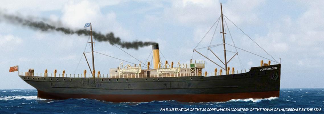 The SS Copenhagen