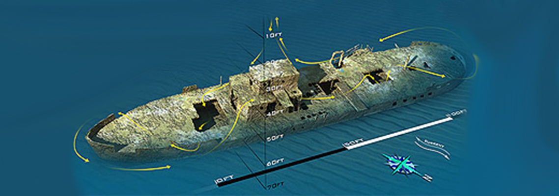 The Ancient Mariner Wreck Map