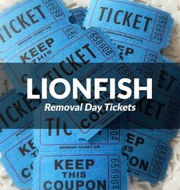Lionfish Removal Day Tickets