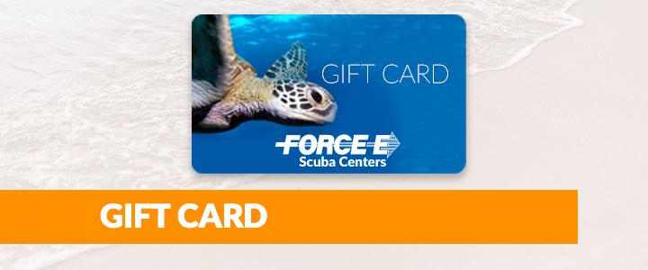 Boca Raton Scuba Gift Card