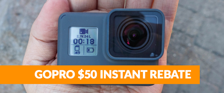 Boca Raton GoPro 5 Rebate Offer