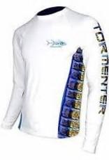 Tormenter Tackle Tormenter SPF LS Shirt - Side Fish
