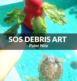Force-E SOS Debris Art Paint Nite Nov 8, 2017