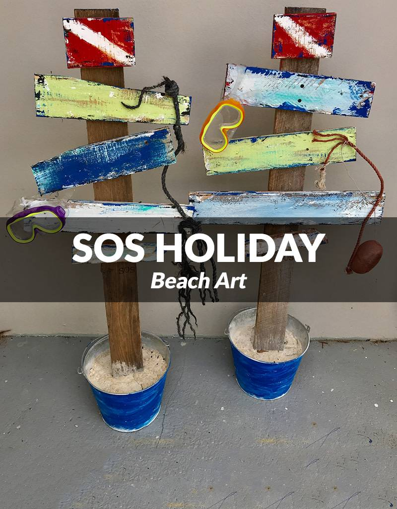 SOS Holiday Beach Art Dec 15, 2017