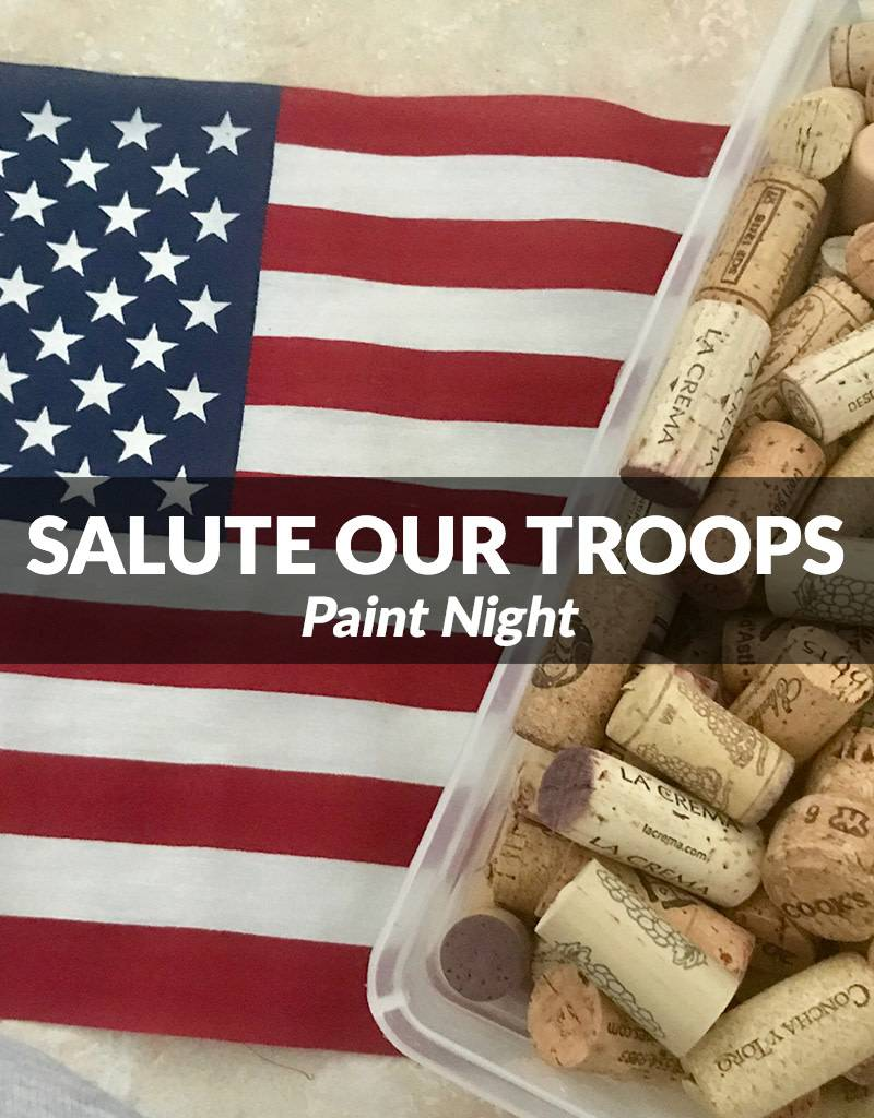 Salute Your Troops Paint Night