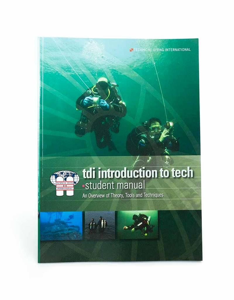 TDI Intro to Tech Diver Manual /KQ