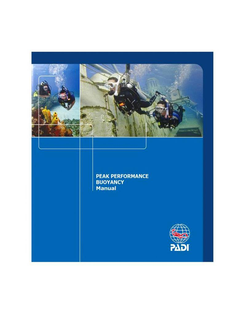 PADI PADI Peak Performance Bouyancy Specialty Manual