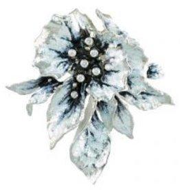 Frozen Leaves Pendant enamel 8 diamonds 2 of 3