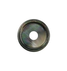 28mm Rounded Tahitian Disc