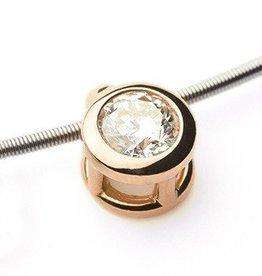 Diamond Pendant Rose Gold