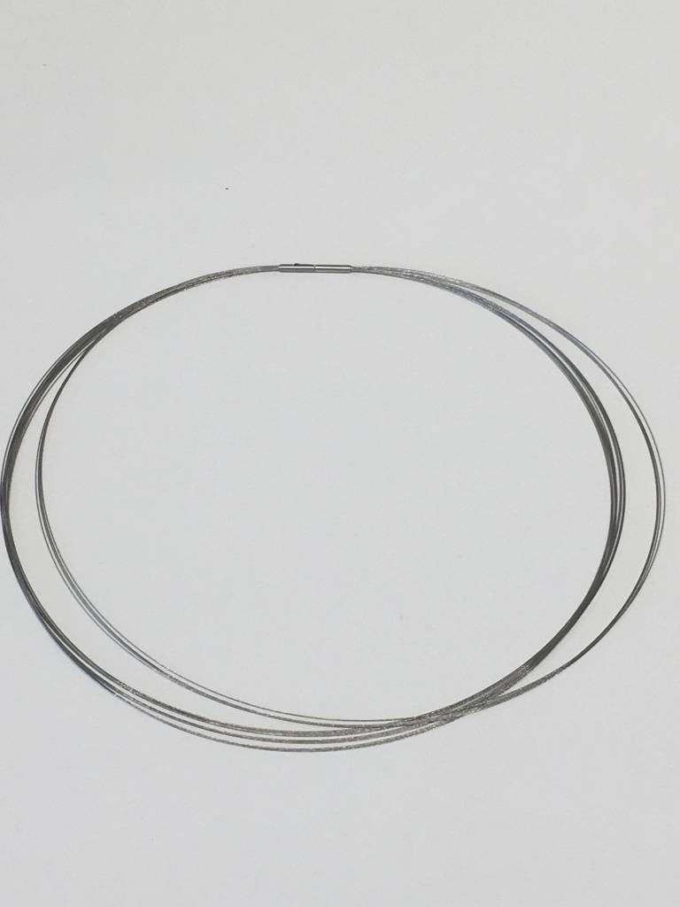 Necklace Steel 15 Strand