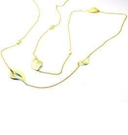 MYRTLE chain gold  6 diamonds