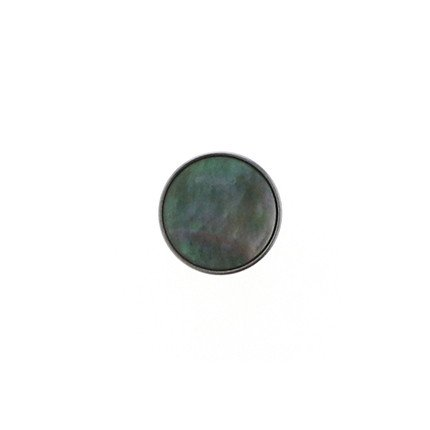 10mm Color Button Tahitian Pearl