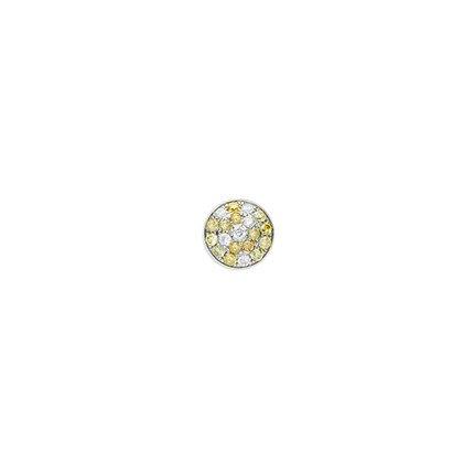 6mm Pave Fancy Diamond Clyinder