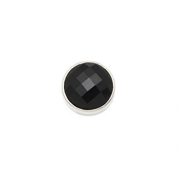 14mm  Cabochon Faceted Onyx Centerpiece